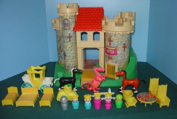 Vintage Fisher Little People Classic #993 Castle