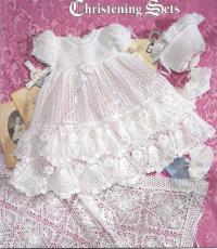 Precious Heirloom Christening Sets~Knit & Crochet Pattern ...