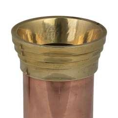 Copper Kitchen Utensil Holder Electrolux Appliances Utensils Accessories Straw And Brass