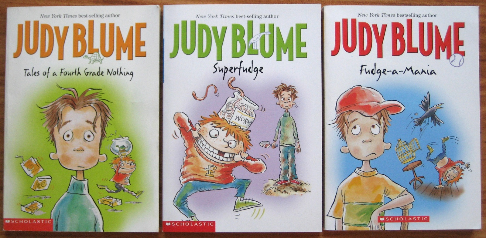 Judy Blume 3 Books Tale Fourth Grade Nothing Superfudge Fudge A Mania Free S Amp H