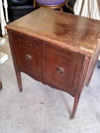 Used Antique Record Cabinet Lane for sale