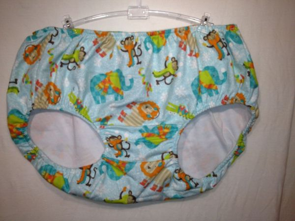 Adult Baby Training Pants Panties. Animal Design
