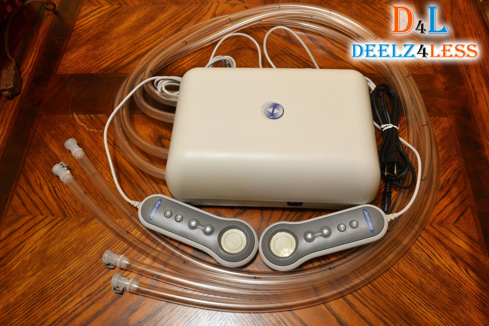 Select Comfort Sleep Number Bed Pump With 4 Hoses Pfcs02