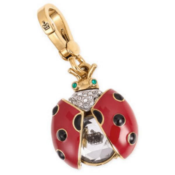 Juicy Couture Charm Ladybug Fashion Jewelry Bracelet