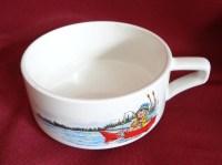 Campbell Kid 10 oz Handled Soup Mug Cup Bowl Fishing Row ...