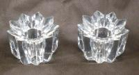 Mikasa Comet Candle Holders 1 pair Austrian crystal NIB ...