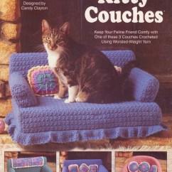 New York Sofa Bed Nz Conversational Reclining Sofas Kitty Couches Crochet Patterns 3 Designs Feline