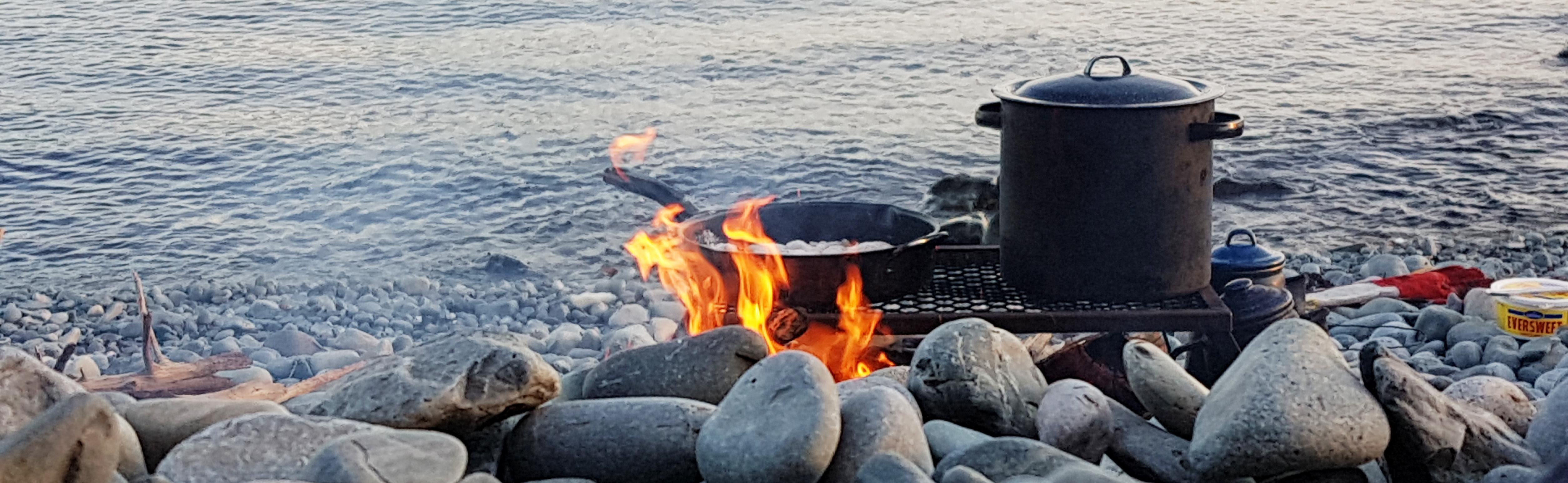Sunset Beach Boil up - Bonavista Adventure Tours - Newfoundland