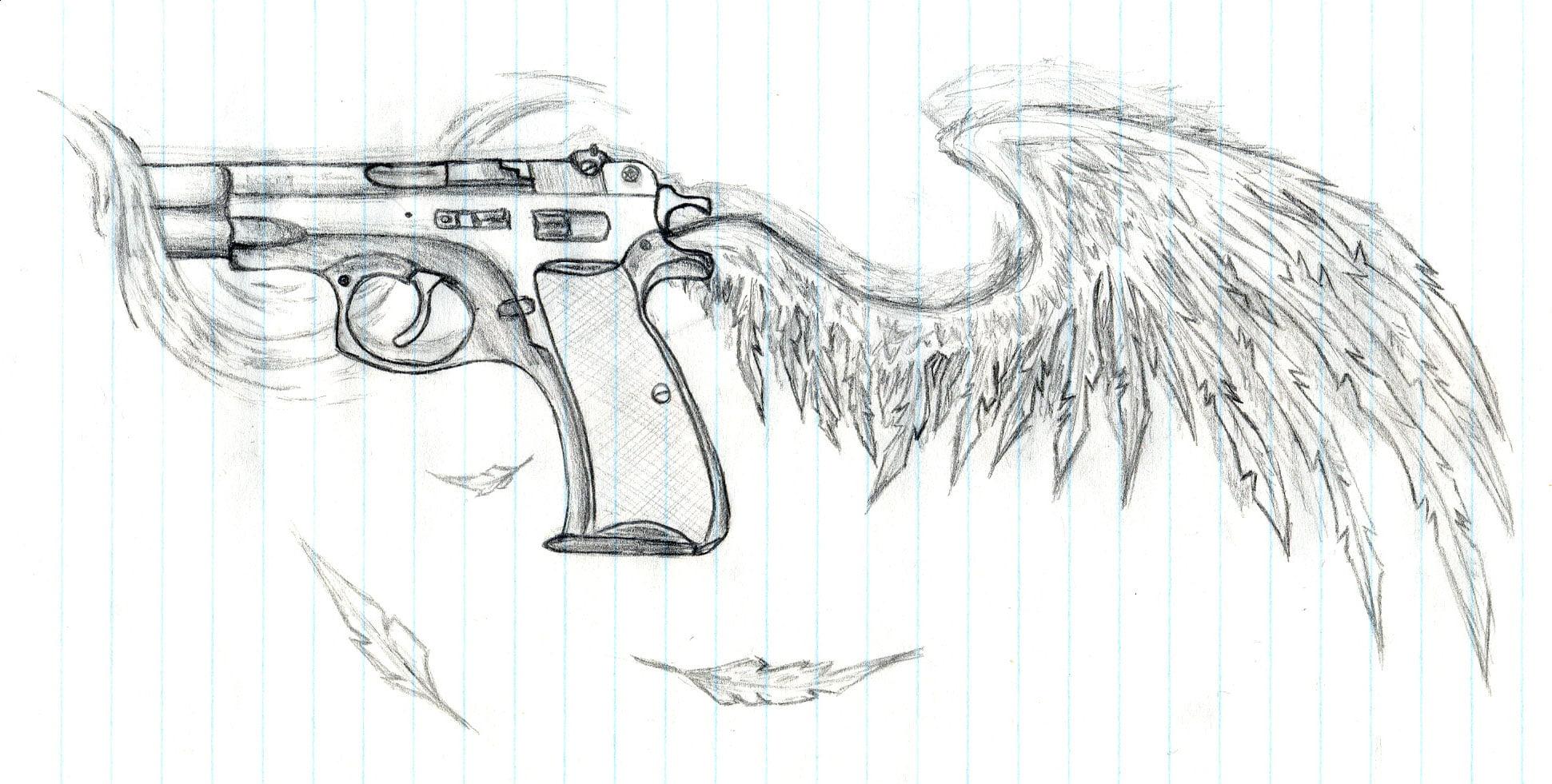 Tattoo Gun Design Cool Tattoos