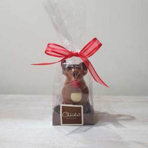 Small Milk Chocolate Reindeer