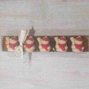 buy christmas chocolates from bon Chocolat Holmfirth, West Yorkshire praline snowmen