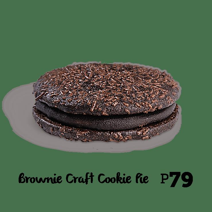 Bonchon Brownie Craft Cookie Pie