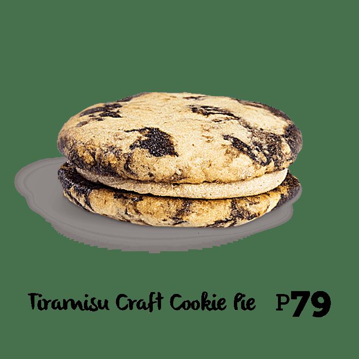 Bonchon Tiramisu Craft Cookie Pie