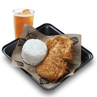 Bonchon 2pc Chops Boxed Meal