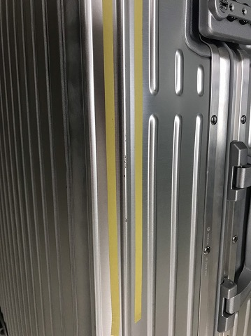 (RIMOWA)リモワ / トパーズのボディ傷を修正
