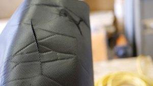 (PUMA)プーマ / キャディバッグ フードカバーにカッターで切ったような切り傷
