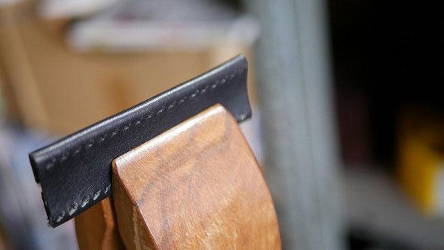 (Titlelist)タイトリスト/VOKEY DESIGN WEDGESキャディバッグのハンドルを革で作製する