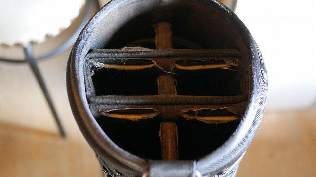 (PORTER)ポーター/キャディバッグの仕切り破れの修理