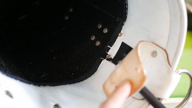 (CLUBER BASE)クラバーベース/キャディバッグの口枠周りを解体する