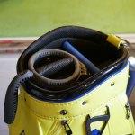 (le coq)ルコック/キャディバッグの仕切りを加工してセルフスタンドバッグが入るように改造