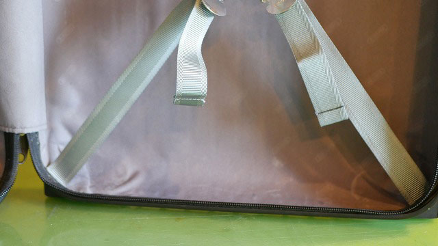 (RIMOWA)リモワ/2輪サルサの解れたクロスベルトを純正パーツに取替