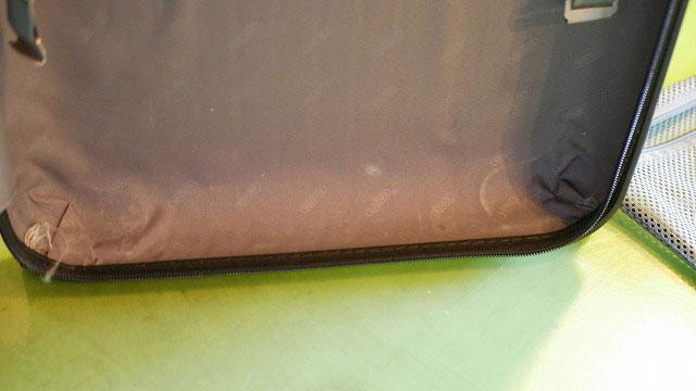 (RIMOWA)リモワ/2輪サルサの内装ベルトが切れて無くなっている