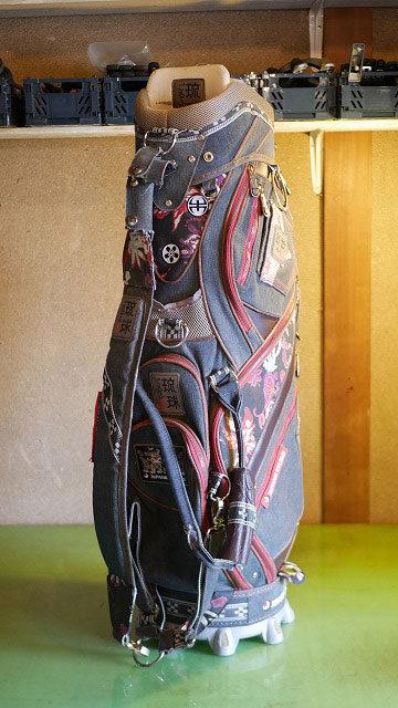 (ZIPANG STUDIO)琉球ゴルフ/キャディバッグの修理