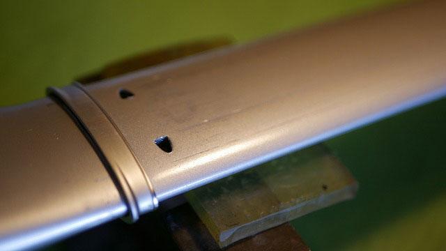 (TUMI)トゥミ/キャリーバッグの伸縮ハンドルが出てこない