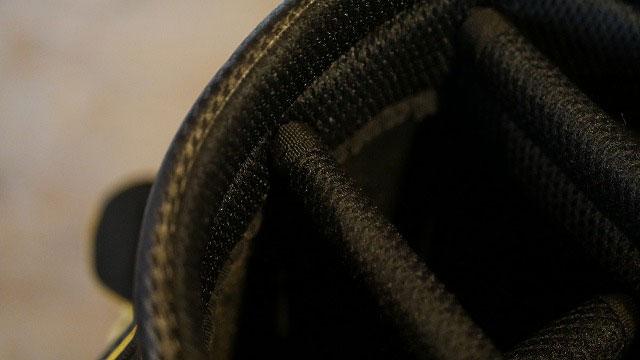(BRIDGESTONE)ブリヂストン/ゴルフバッグの折れた仕切り棒を作製交換