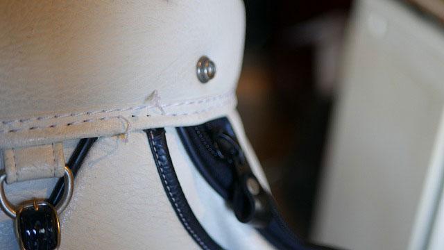 (PEARLY GATES)パーリーゲイツ/キャディバッグの口枠再縫製