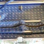 (RIMOWA)リモワ/トパーズの内装テレスコープハンドルカバーの破れ