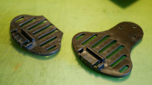 (ARMY BASE COLLECTION)アーミーベースコレクション/キャディバッグの割れた底脚を交換修理
