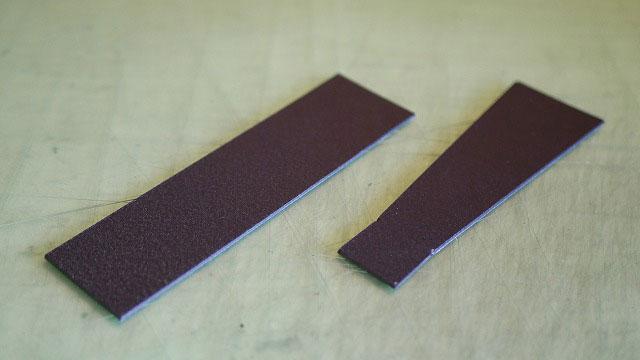 (BURBERRY)バーバリー/キャディバッグのハンドル取付部の補強に使用する樹脂板