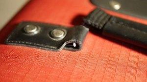 キャリーバッグ/ハンドルの角カン割れ修理