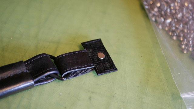 (TUMI)トゥミ/キャディバッグの持ち手根元の補強