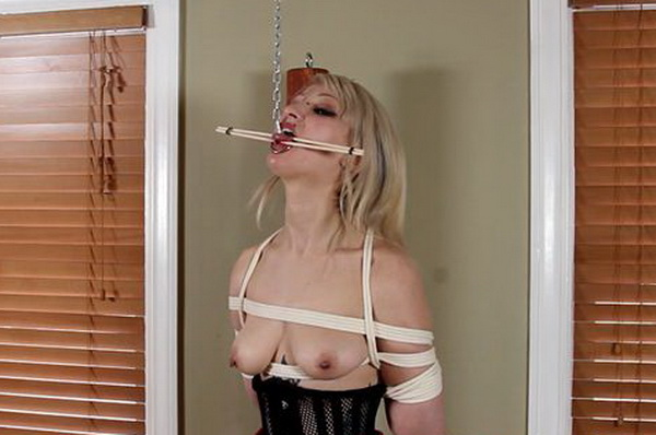 TripSix vs Spreader Bar Chastity Belt and Her Tongue