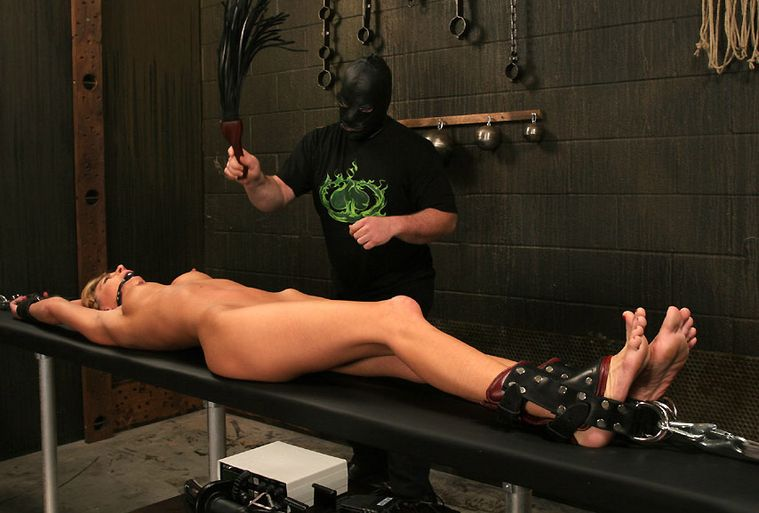 Restrained gagged