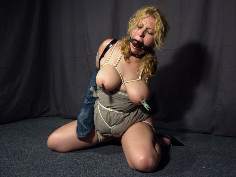 Bound And Gagged Slave