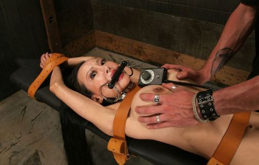 Hot Asian Gets Restrained, Penetrated and Humiliated in the Dungeon