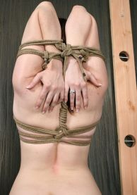 Hot Young Slave Gets Restrained, Gagged and Disciplined in the Dungeon