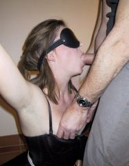 Sexy Amateur Gets Bound, Blindfolded and Trained in Basement