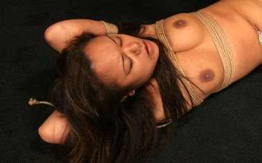 Sexy Young Asian Tightly Bound, Penetrated and Degraded in the Dungeon