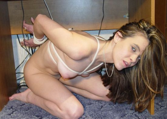 Young Girlfriend Gets Bound, Gagged and Disciplined by Her Boyfriend