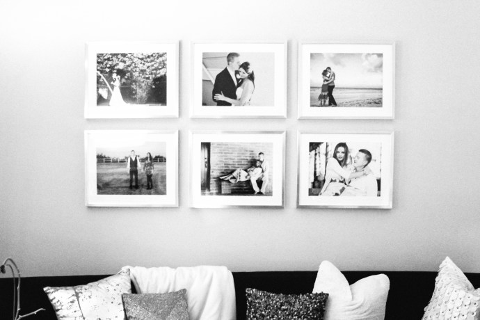Style At Home // Gallery Wall Frames on BondGirlGlam.com