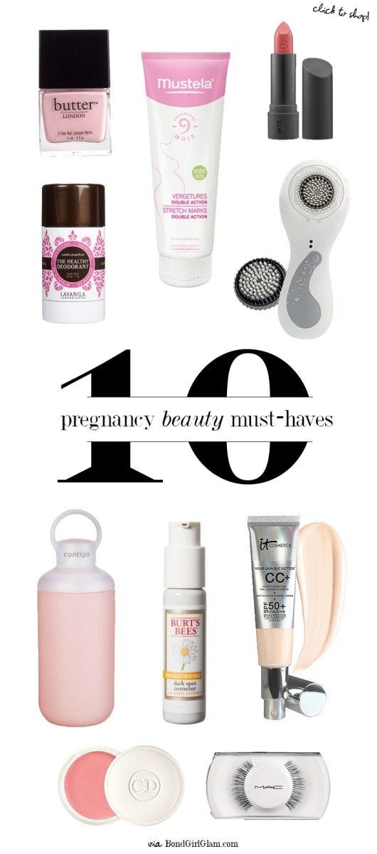 The Glow // Pregnancy Beauty Must-Haves