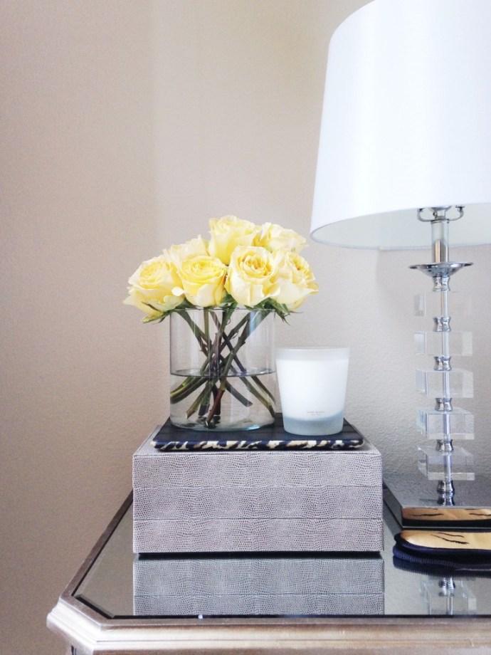 HOW TO // Simple Flower Arrangements at Home   BondGirlGlam.com