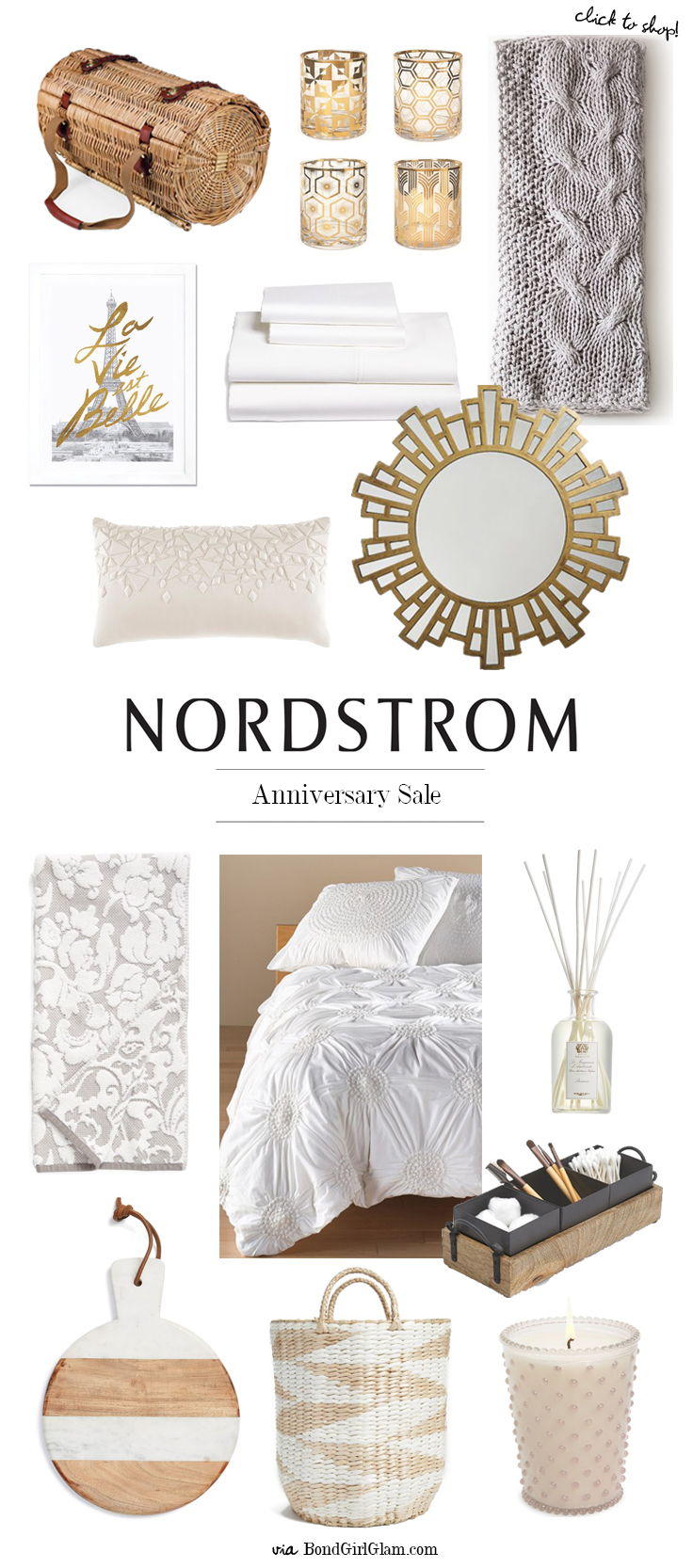 Charming Nordstrom Early Access Anniversary Sale // Home Décor