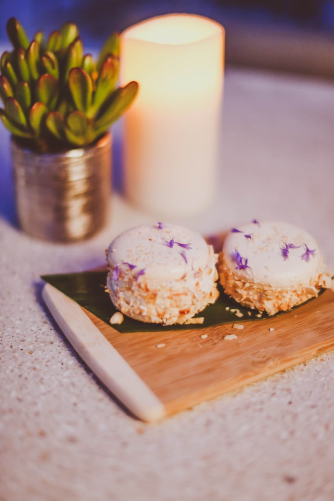 date night, wp24 rooftop, french macaron ice cream sandwiches, ritz carlton los angeles, la live