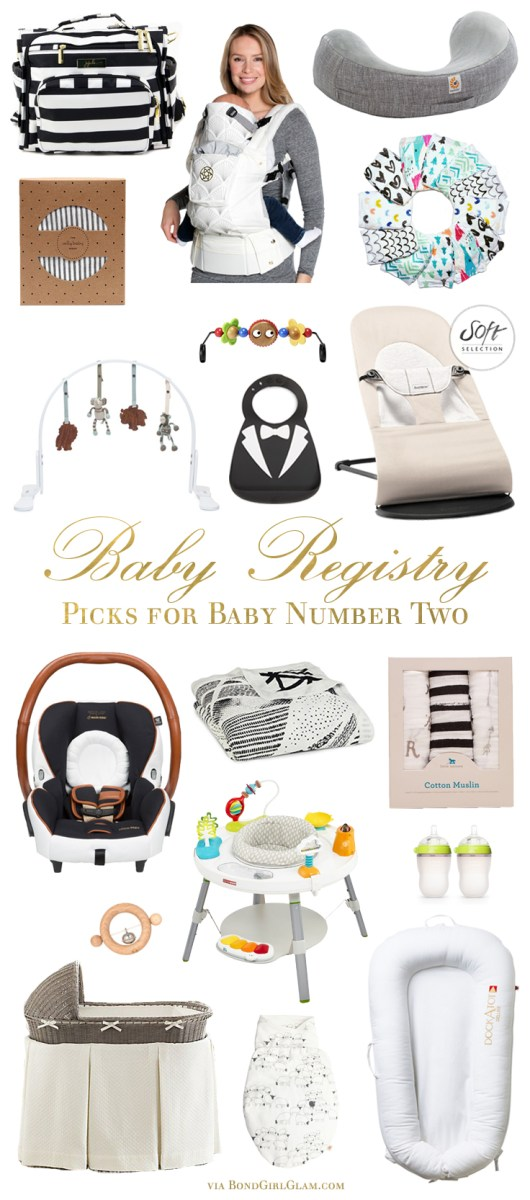 Baby Registry Must-Haves for a Second Baby