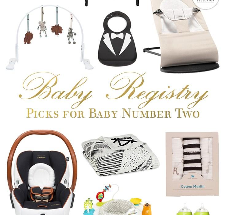 Baby Registry Must-Haves, Round 2
